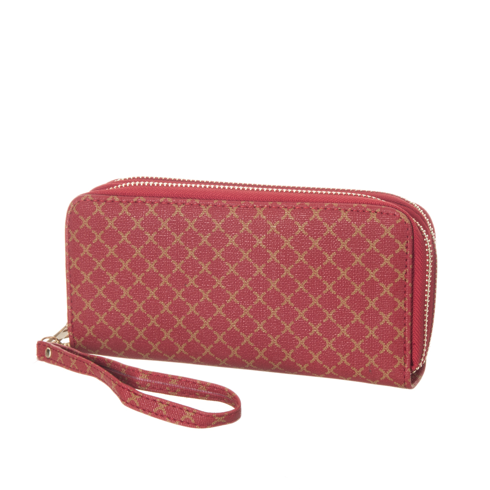 WALLET-W168-RED